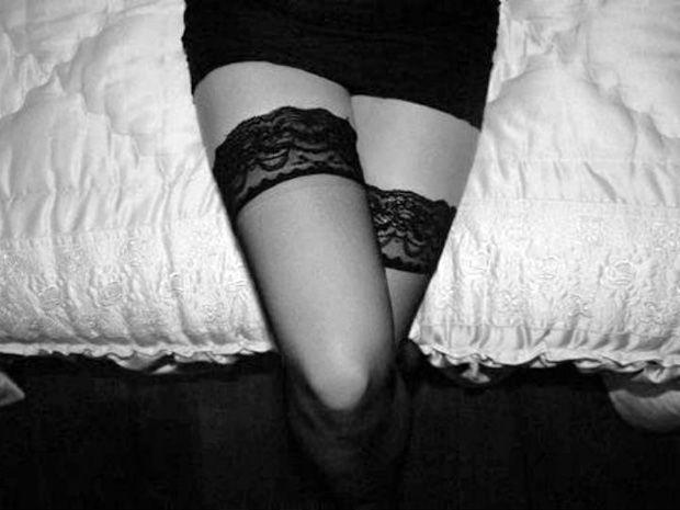 Tu podes-te dar prazer usando apenas as pernas, sabias?