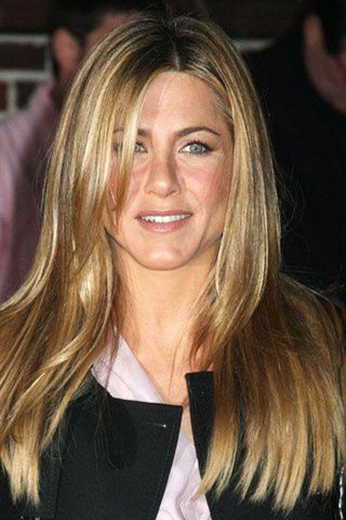 Assim é na realidade o cabelo de Jennifer Aniston