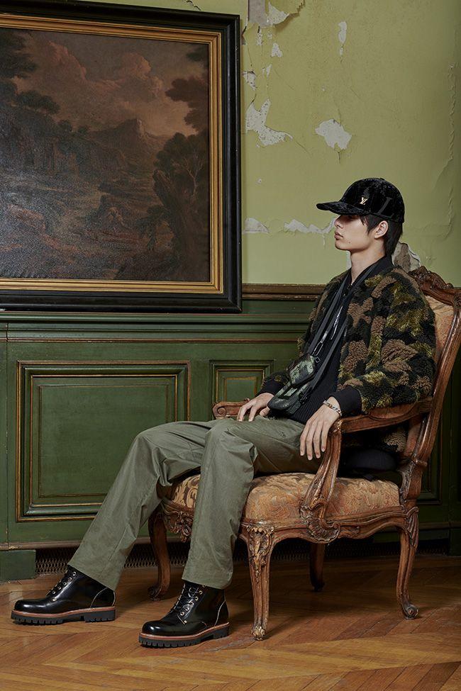 Louis Vuitton men's ready-to-wear lookbook Pre-Fall 2020