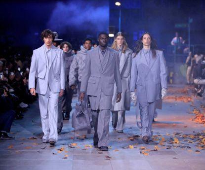 A impressionante colecção masculina Louis Vuitton em Paris
