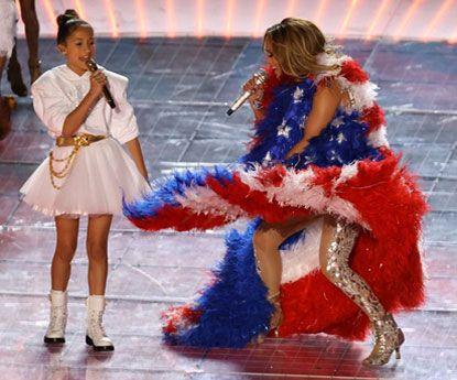 A poderosa mensagem de Jennifer Lopez no Super Bowl
