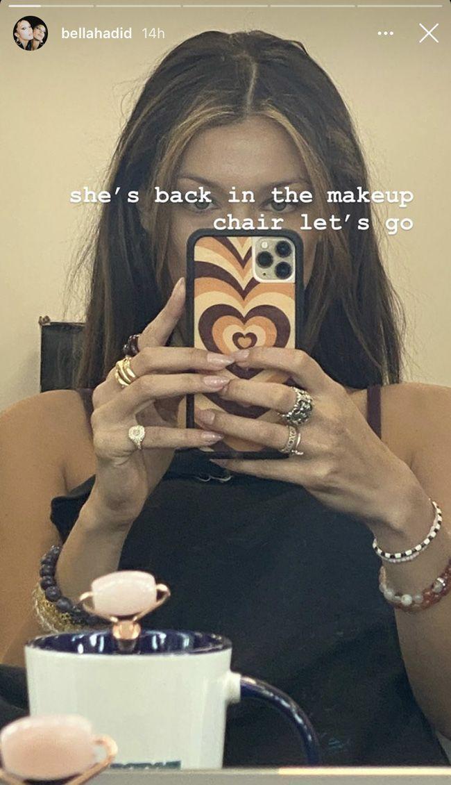 Bella Hadid lança tendência capilar viral no TikTok