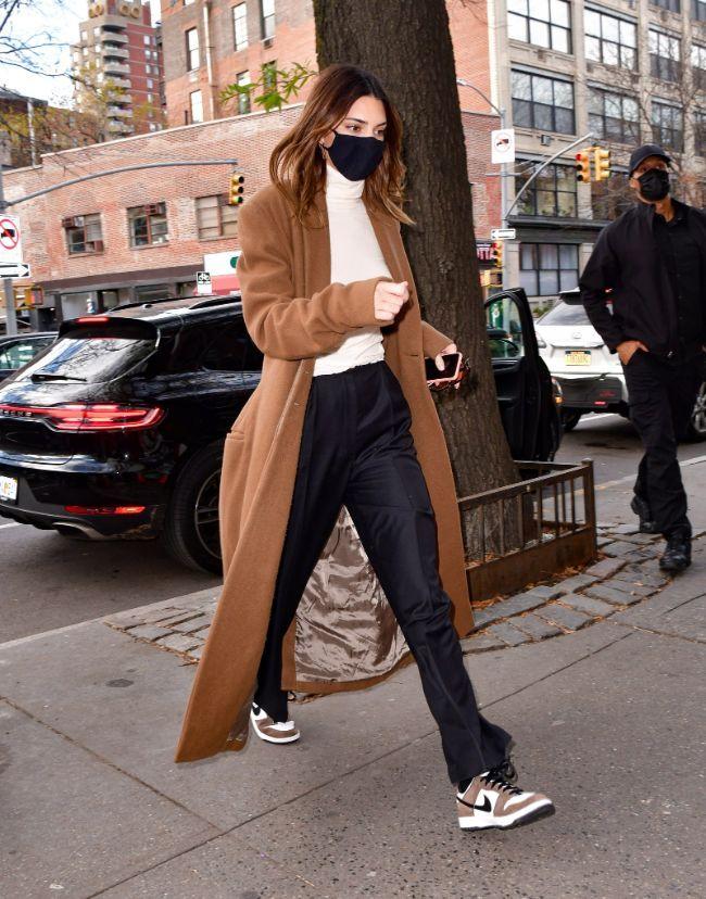 Bella Hadid e Kendall Jenner com estilos diferentes