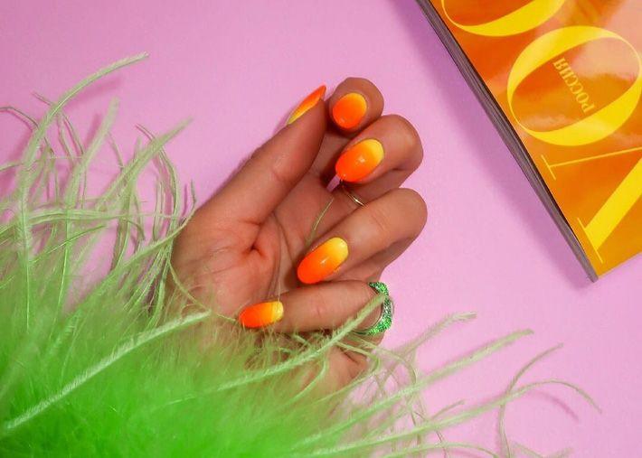 Este verão veste as tuas unhas com efeito ombré