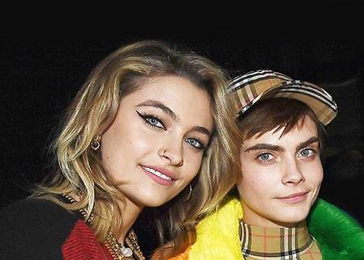 Cara Delevingne e Paris, filha de Michael Jackson, um casal?