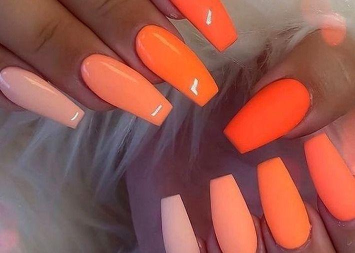 Unhas laranja: a cor tendência está nas tuas mãos