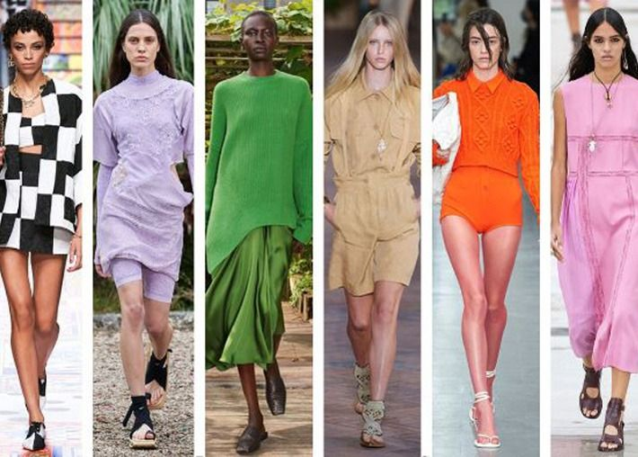 Estas são as cores favoritas da temporada saídas da passarela