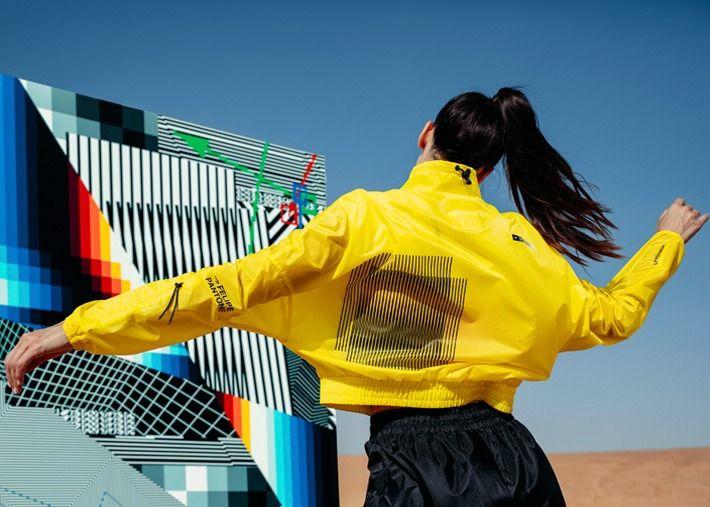 Puma lança primeira coleção com o artista Felipe Pantone