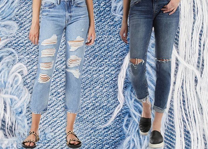 Chegaram os jeans oversized: adeus aos mom jeans?