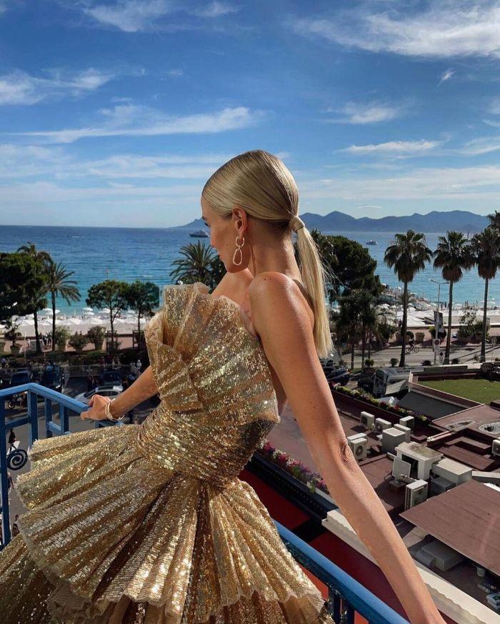 Leonie Hanne: uma das mais sofisticadas e elegantes da moda