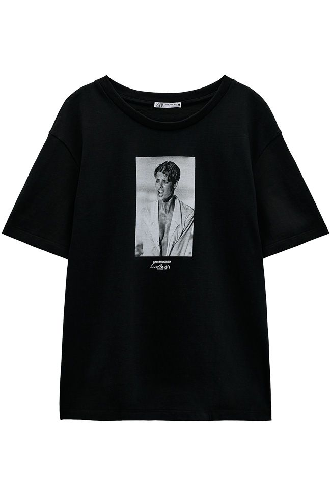 Zara lança coleção de t-shirts e suéteres com fotos de celebridades