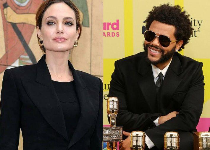 Há verdade nos rumores de romance entre Angelina Jolie e The Weeknd?