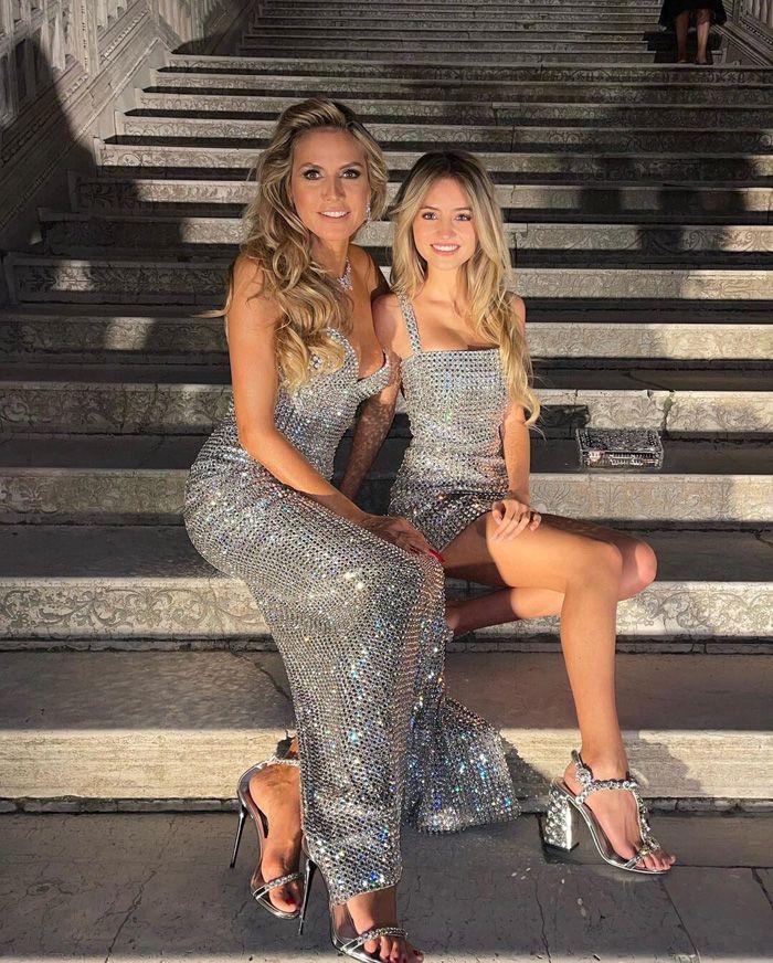 Leni Klum, filha de Heidi Klum segue os passos de Kaia Gerber