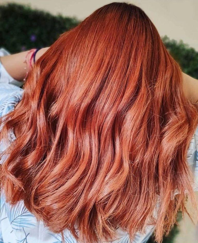 Tons balayage: 4 tipos de tintas vermelhas com cortes de cabelo 'Bob'