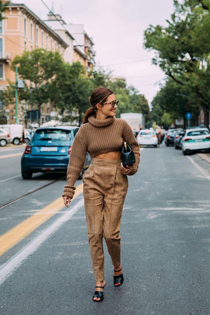 O melhor do street style da Semana de Moda de Milão
