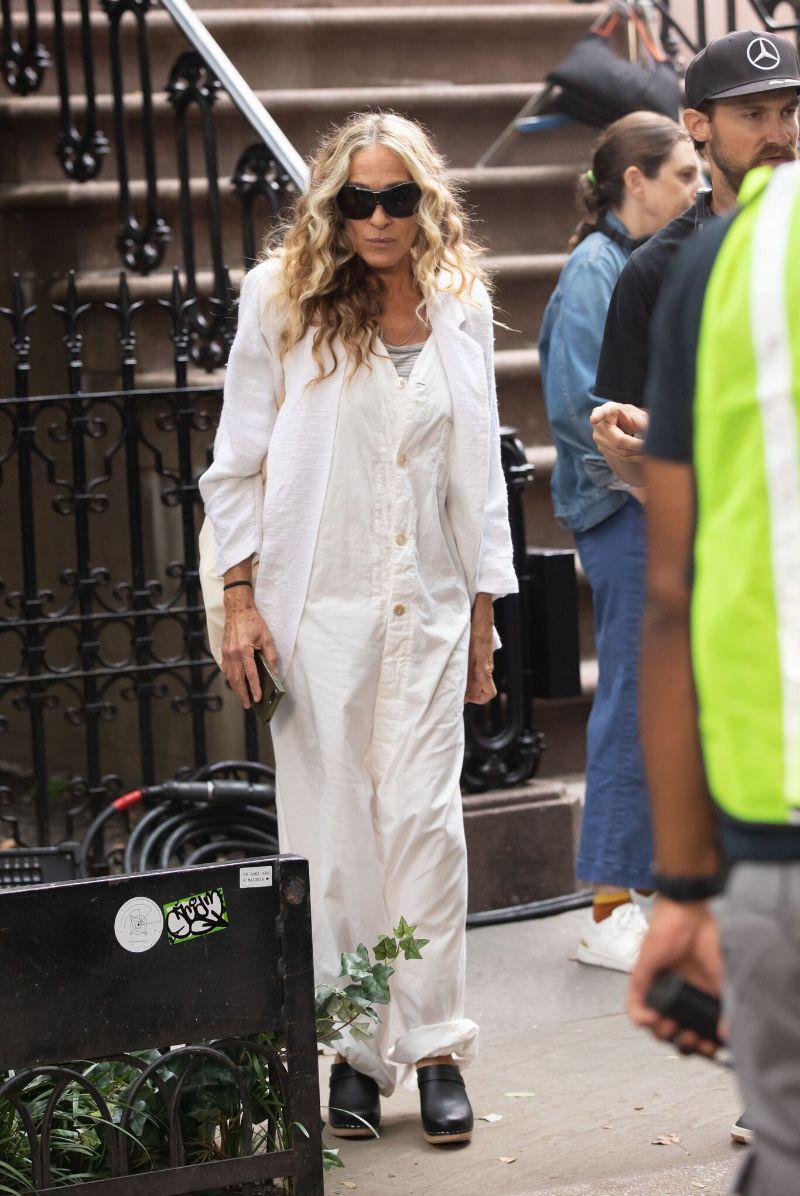 Sarah Jessica Parker rainha do street style em 'Sex and the City'